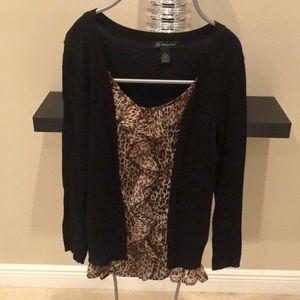 INC Layered Top/Sweater